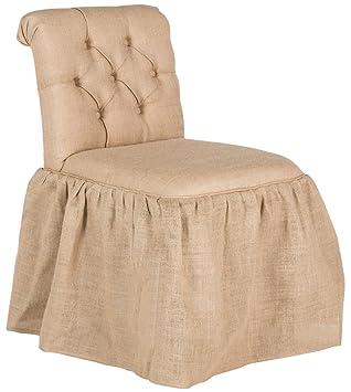 Amazon.com: Safavieh Mercer Collection Allie vanidad Silla ...