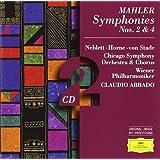 Mahler : Symphonies n° 2 et n° 4