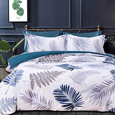Modern Printed Duvet Quilt Cover Reversible Comforter Bed Cover Bedding All Size