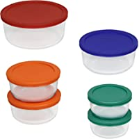 Pyrex 12-Pc. Storage Set w/Colored Lids