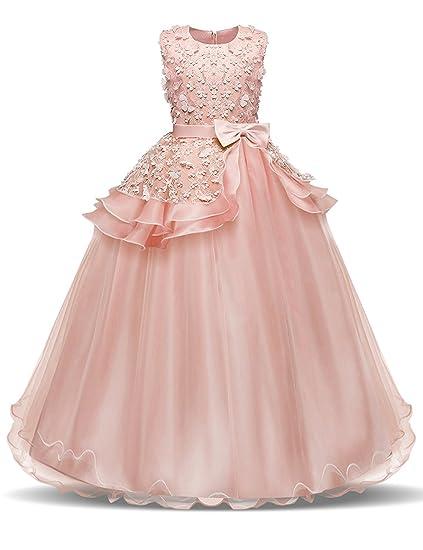 Girls 7 14 Floor Length Dress