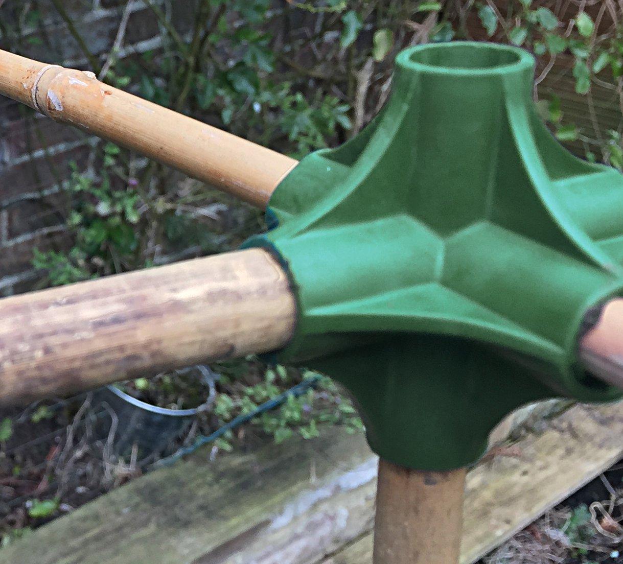 6 agujeros nutleys pantallazo conectores, verde: Amazon.es: Jardín