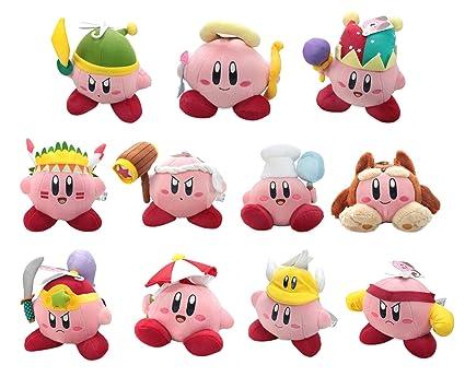 Amazon.com: Little Buddy Set of 11 Kirby Plushes - Sword ...