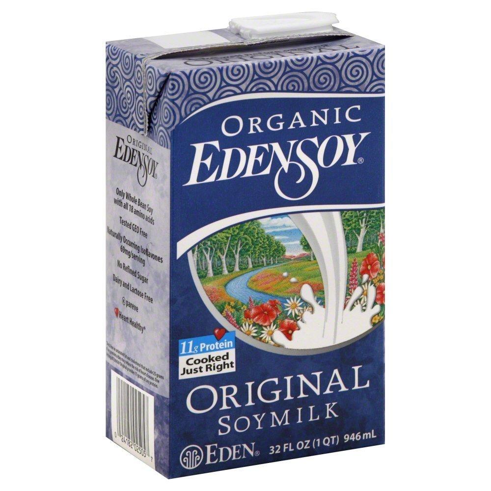 Eden Original Soymilk Organic 32.0 OZ(Pack of 2) by Eden (Image #1)
