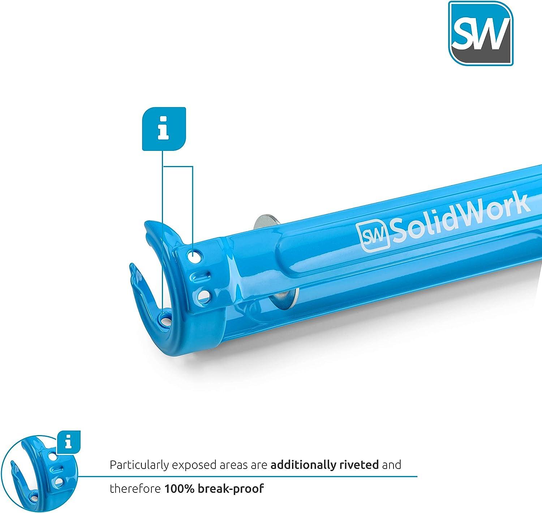 SolidWork professional Caulk Gun with highest 26:1 leverage - Caulking Gun for processing all 10oz sealing and adhesive cartridges