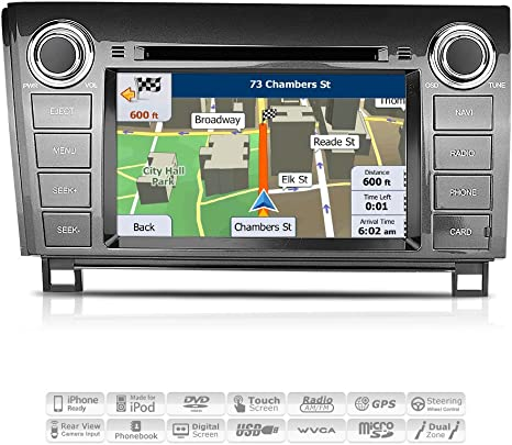 GPS Navigation Touch Screen Multimedia Radio for Toyota Tundra 2007-2012