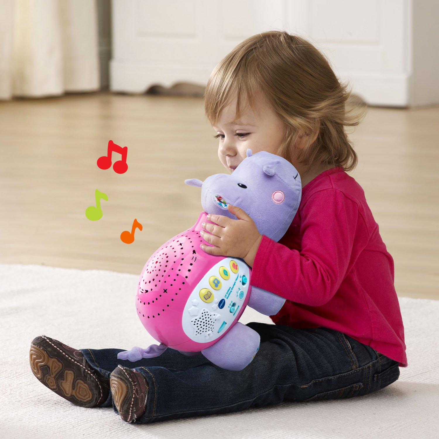 VTech Baby Lil' Critters Soothing Starlight Hippo, Pink (Amazon Exclusive) by VTech (Image #4)