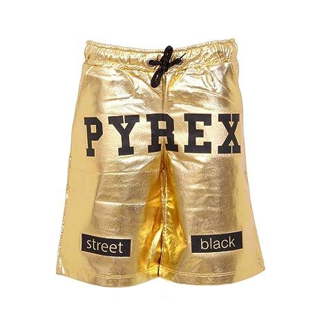 Pyrex Pantaloncini Bermuda Street Black (7 Anni): Amazon.it