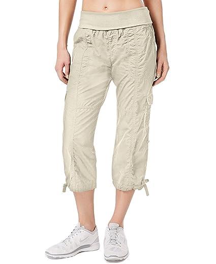d6d5534548a9 Calvin Klein Women s Performance Capri Cargo Pants PF6P0828 (X-Small ...