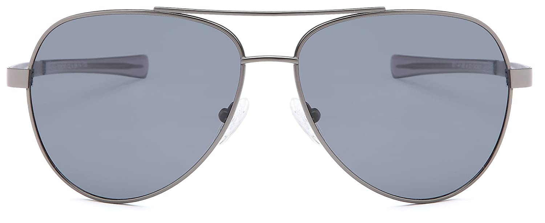 30dd92919c GAMMA RAY TITANLITE Tomcat Polarized UV400 Titanium Aviator Sunglasses in  Nickle Free Hypoallergenic Frame  Amazon.in  Clothing   Accessories