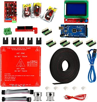 XCSOURCE Rampas 1.4+ A4988 + Mega2560 R3 + LCD 12864 Kit de ...