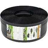 25m Rasenkante Kunststoff von AMISPOL® - 170/4mm, Beetumrandung, Beeteinfassung, Mähkante