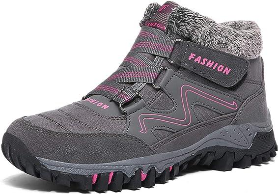 chaussure de marche femme neige