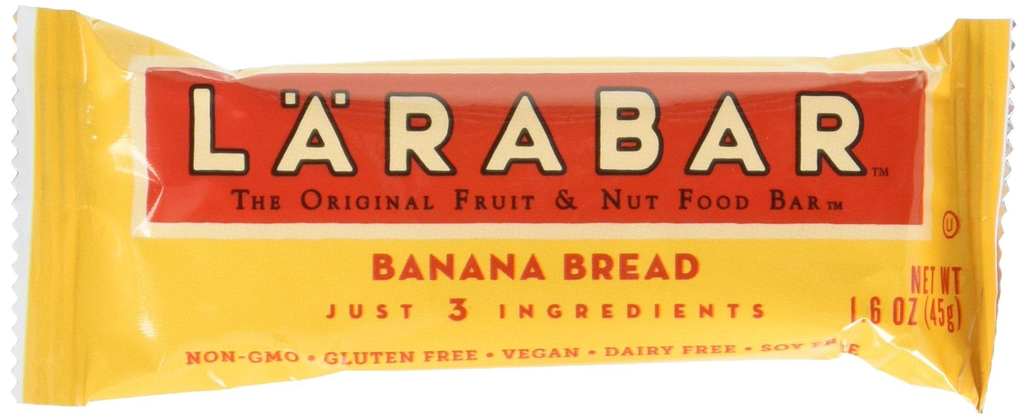 Larabar Gluten Free Bar, Banana Bread, 1.6 oz Bars (16 Count)