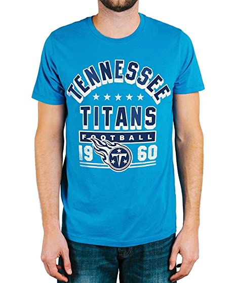 Amazon.com  Tennessee Titans Kickoff Crew T-Shirt Small  Clothing 0de361190