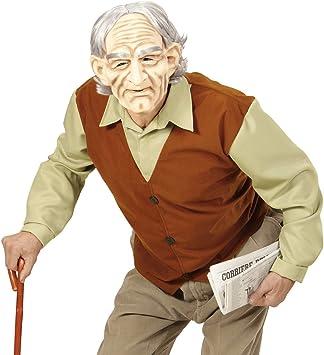 NET TOYS Disfraz Abuelo Traje de señor Mayor XL 54 Ropa Anciano ...