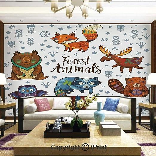 woodland animal home decor amazon com wallpaper nature poster art photo decor wall mural for  poster art photo decor wall mural