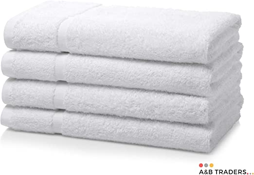 Juego de 4 toallas de mano de algodón egipcio 700gsm Extra suave o cama de matrimonio Miami de toallas de baño de ...