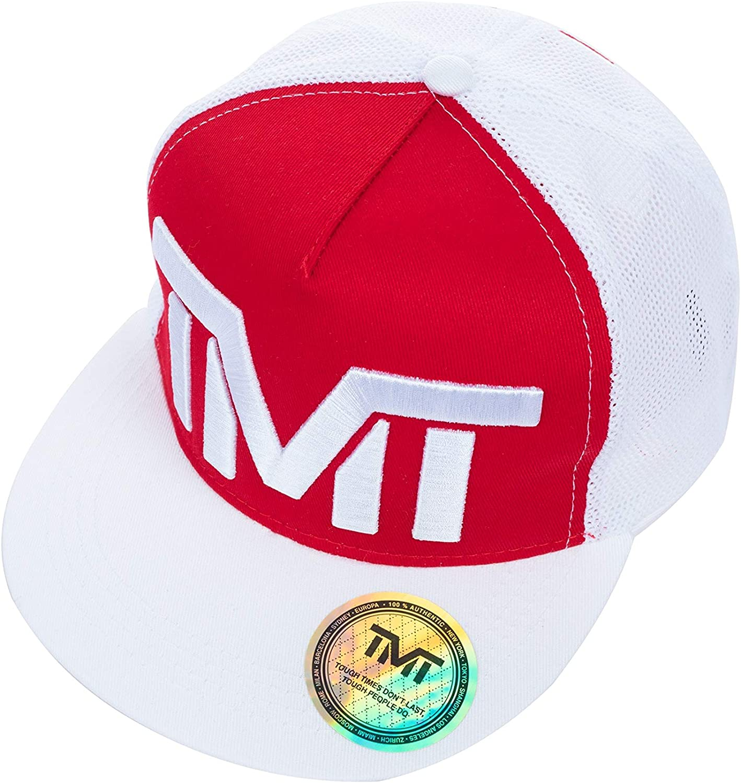 TMT - Gorra de béisbol - para Hombre Rojo Rojo Talla única: Amazon ...