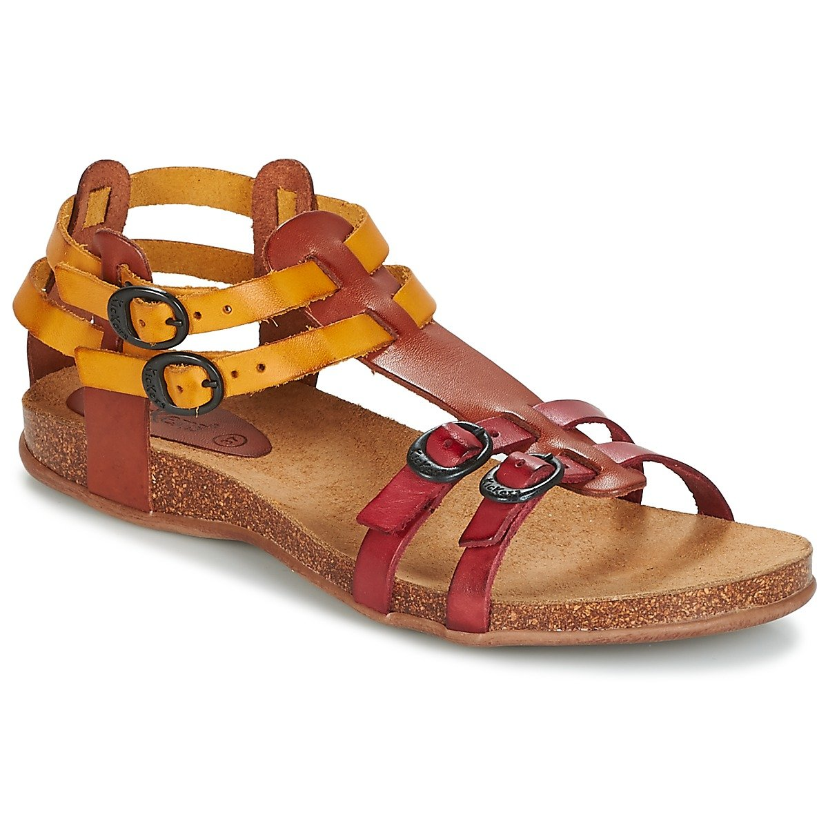 Kickers Femme Ana, Sandales Sandales Ana, Femme Rouge fb15ba3 - automatisms.space