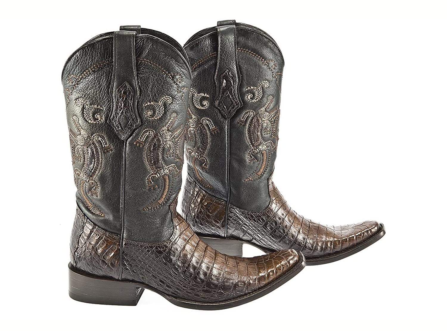 Cowboy Mens Boots By Cuadra - Extasis Color - Alligator Leather - Handmade - Sizes From 7.5 to 11