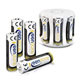 Rechargeable AA Batteries, Keenstone 1.2V NiMH