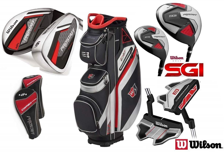 Wilson Combo híbrida HDX Complete Golf juego todo grafito ...