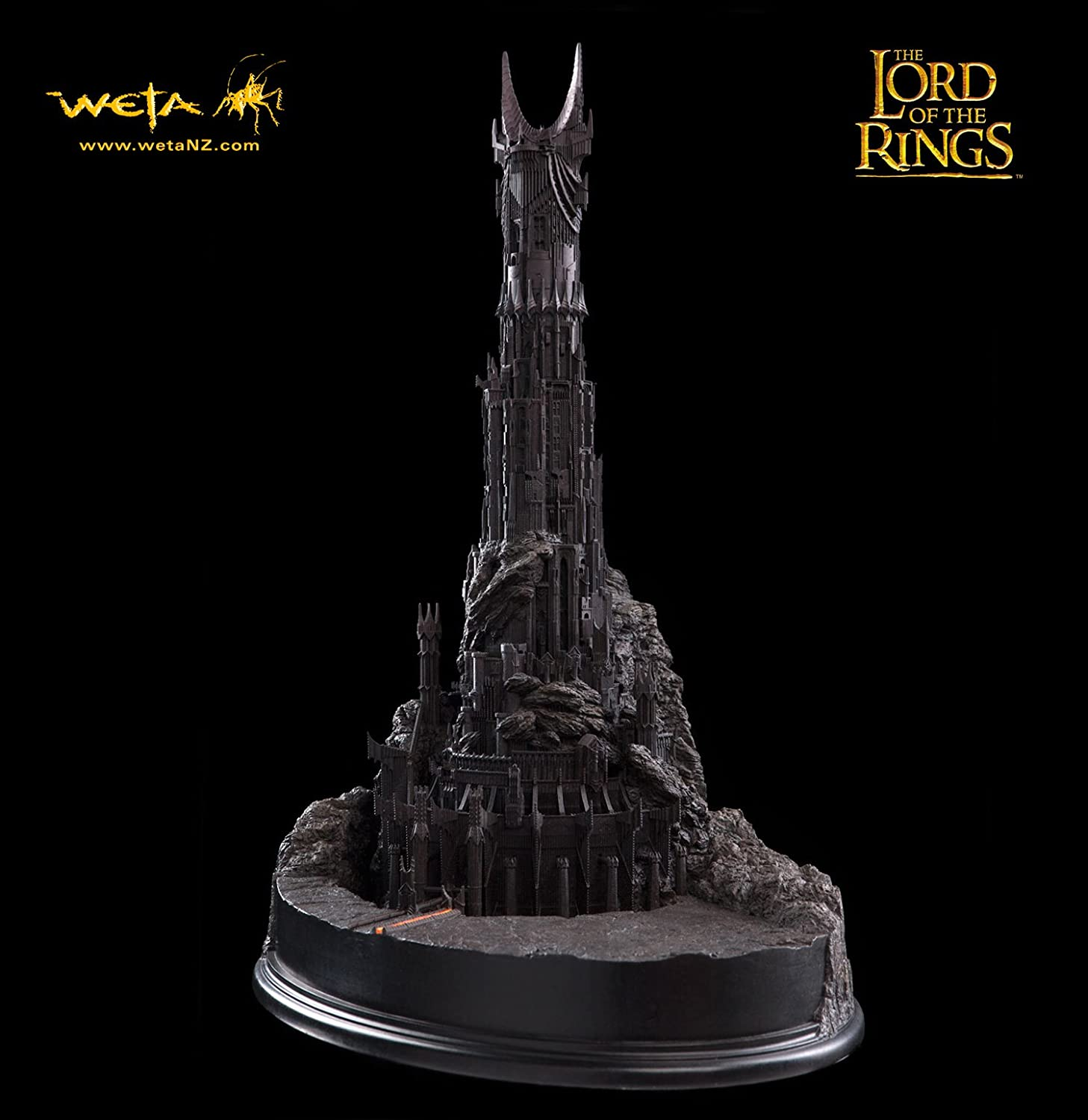Barad-dûr - Fortress of Sauron - The Lord of the Rings Environment ...