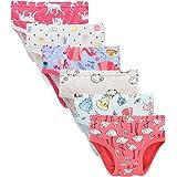 Pack of 6 muyan Baby Soft Cotton Underwear Little GirlsBriefs Toddler Undies