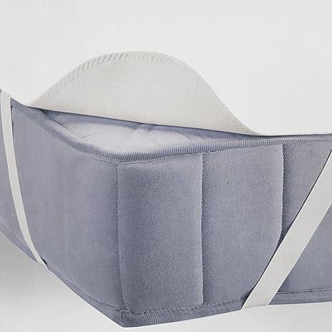 Protector de colchón impermeable Molton - Cubre colchón protector, protege el colchón contra la suciedad