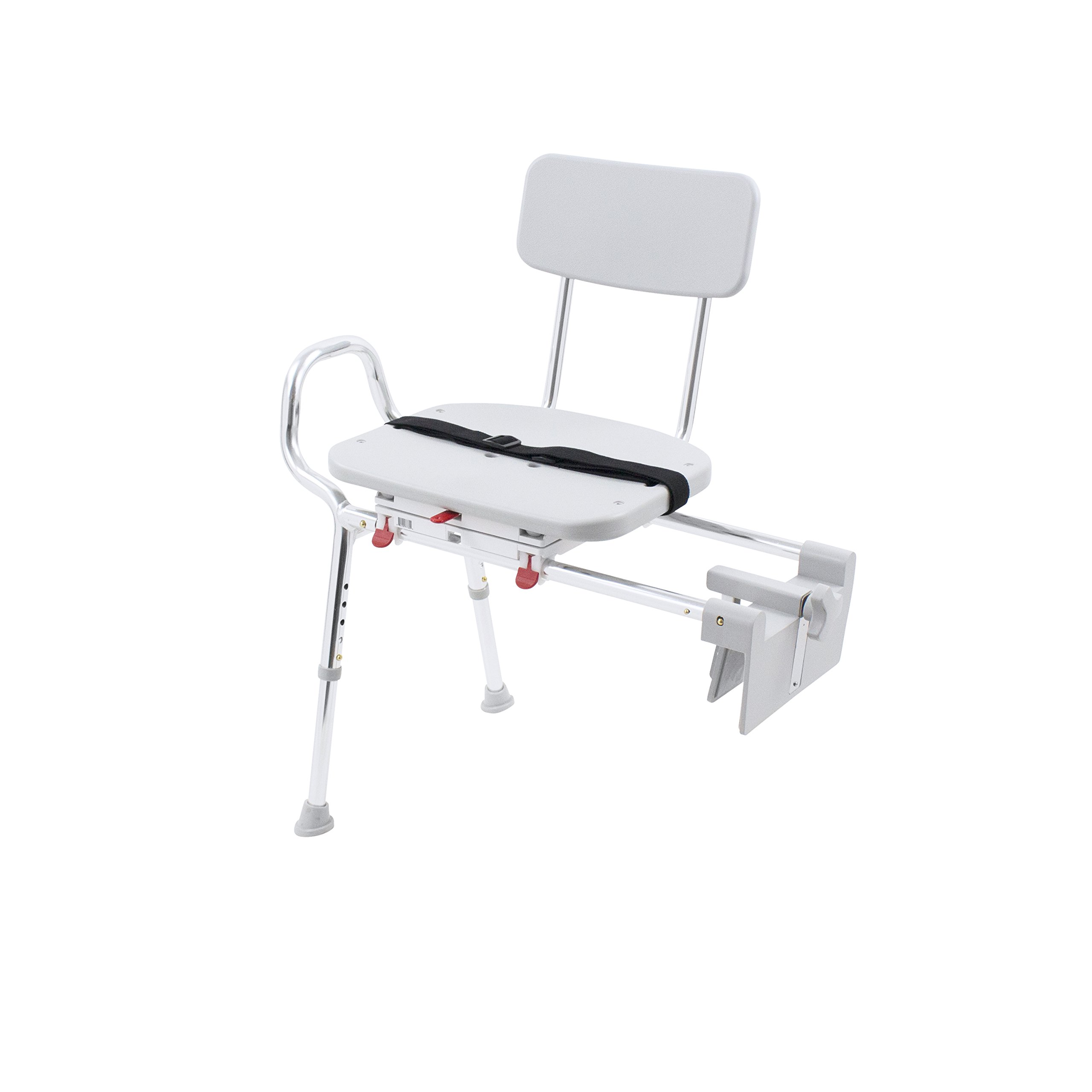 Eagle Health Supplies Tub-Mount Swivel Sliding Shower Transfer Bench, No Tool Assembly by Eagle Health Supplies (Image #5)