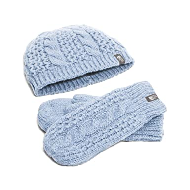 3825aa26087eb The North Face Cable Minna Collection Beanie Women s Arctic Ice Blue One  Size