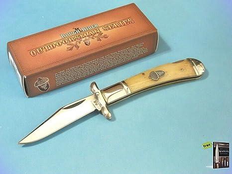 Amazon.com: Cuchillo de bolsillo plegable RRR1326 RIDER para ...