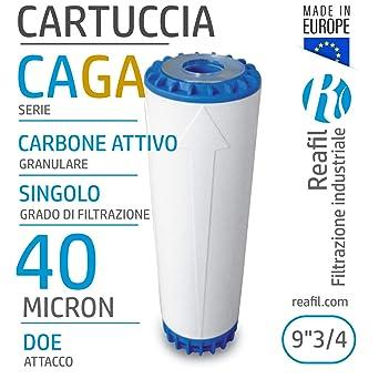 17, 1 Micron Reafil Sacco Filtrante in Polipropilene per Acqua Industriale
