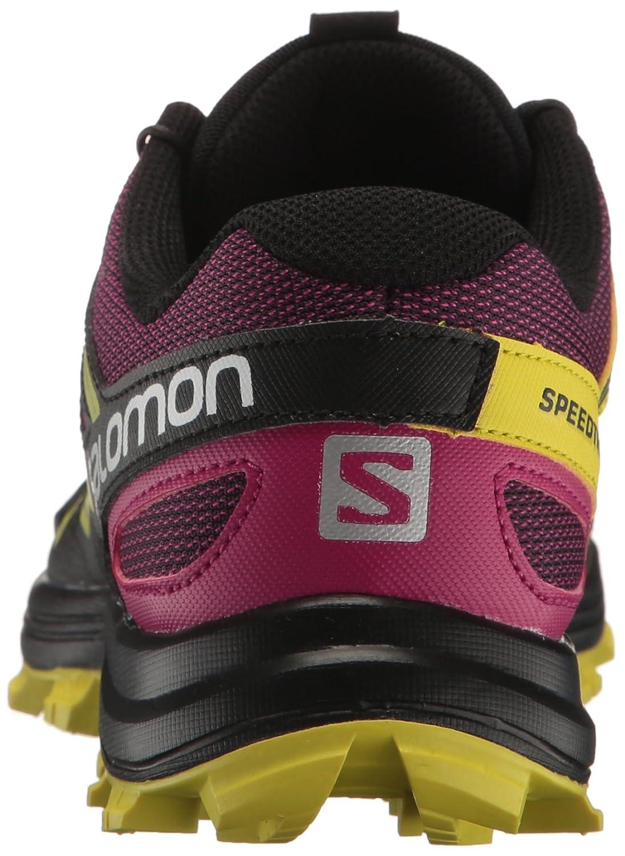 Salomon Damen Speedtrak W Traillaufschuhe Schwarz Schwarz Schwarz 43.3 EU 250198
