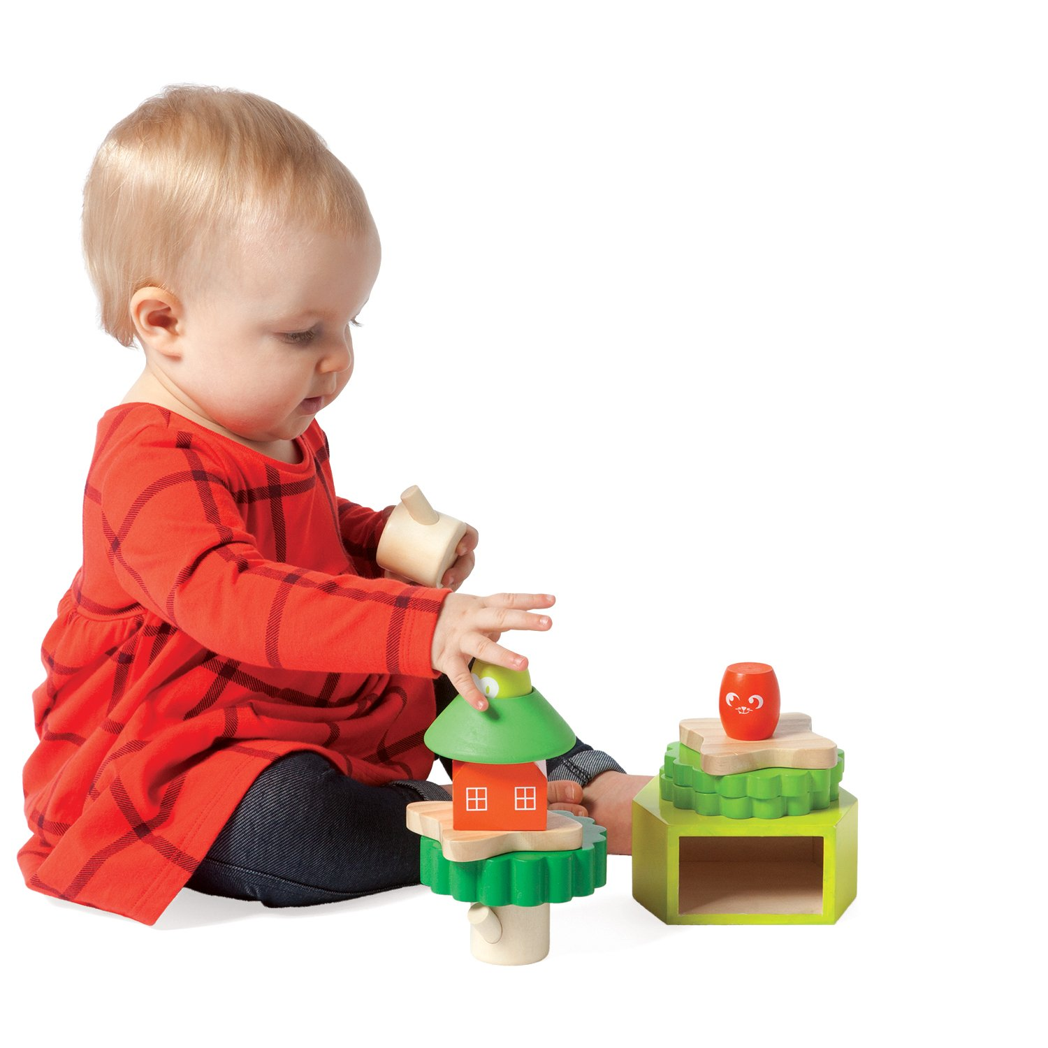 Amazon Manhattan Toy Treehouse Wooden Stacker & Block Set