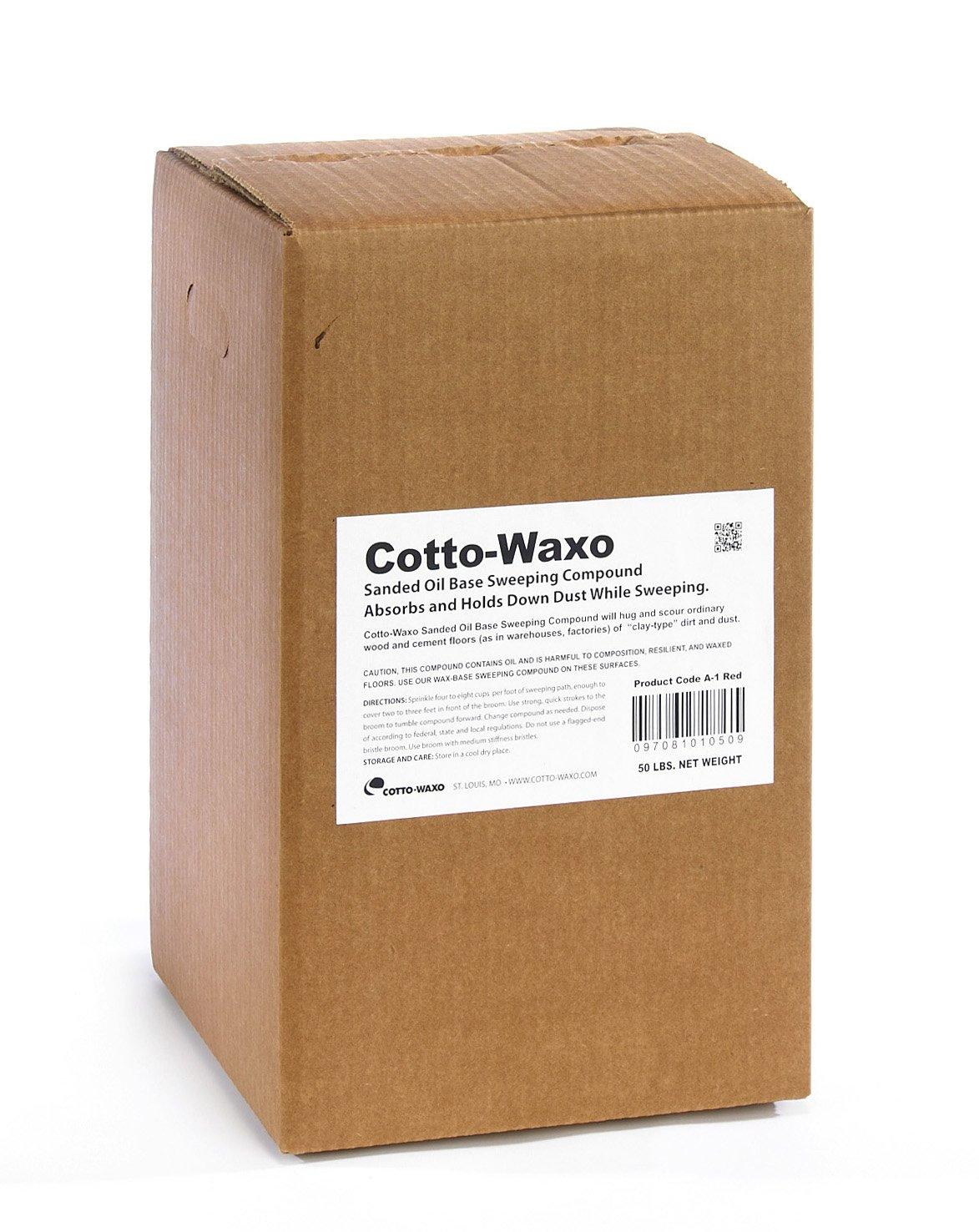 Amazon.com: Cotto Waxo A 1 Sanded Oil Base Sweeping Compound, 50 Lbs Box:  Industrial U0026 Scientific