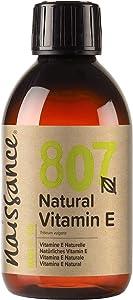 Naissance Vitamina E n. º 807 (Aceite) – 250ml - Natural, vegana, libre de hexano y no OGM.