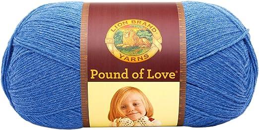 Antique White Lion Brand Yarn 550-099B Pound of Love Yarn