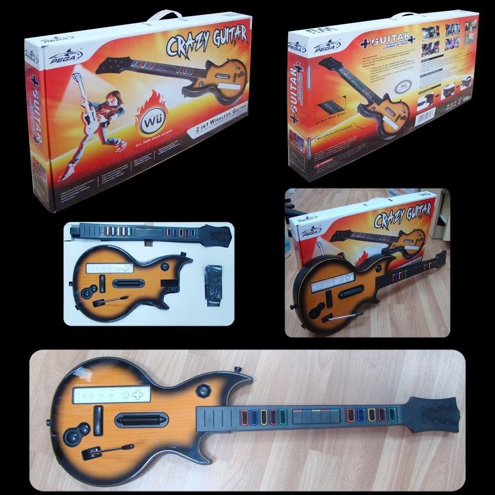 SATKIT Guitarra Inalambrica Wii: Amazon.es: Videojuegos