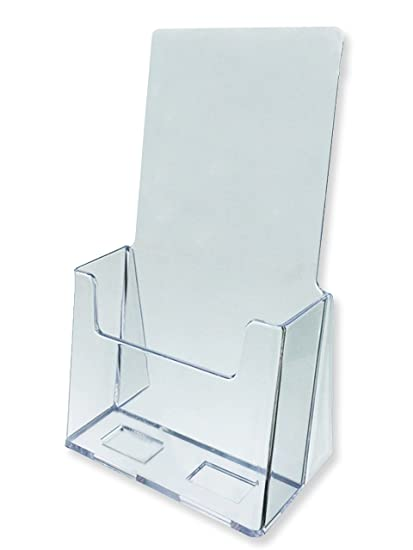 Amazon Marketing Holders Literature Display Stands 40 Pack Interesting Acrylic Brochure Display Stands