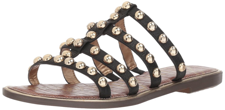 Sam Edelman Women's Glenn Slide Sandal B078HMHV61 6 B(M) US|Black Leather