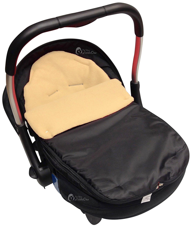 Car Seat Footmuff Cosy Toes Compatible with Mamas and Papas Dark Pink