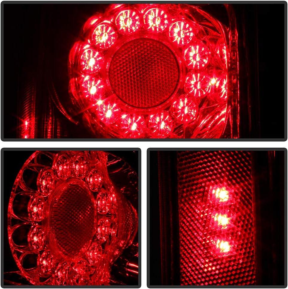 For 2011-2019 Dodge Grand Caravan Factory Style LED Tail Lights Brake Lamps Assembly Driver /& Passenger Side ACANII