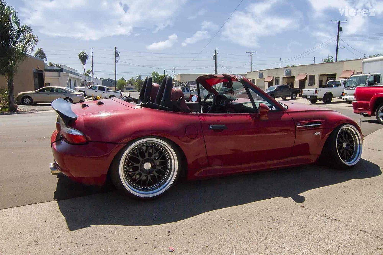 vicrez BMW Z3 E37 1996 - 2002 Rocket conejo Ducktail Alerón Trasero Spoiler vz100565: Amazon.es: Coche y moto