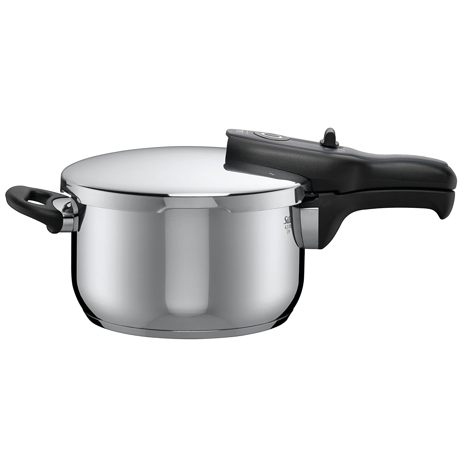 Silit Sicomatic t-plus pressure cooker, without insert, 4.5l, Stainless steel, 8205602214 2120260851