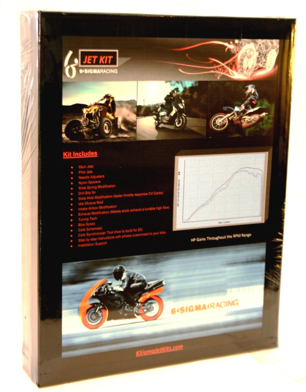 Beta 300RR 300 RR 2T Dual Sport Enduro Carburetor Jetting Carb Stage 1-3 Jet Kit