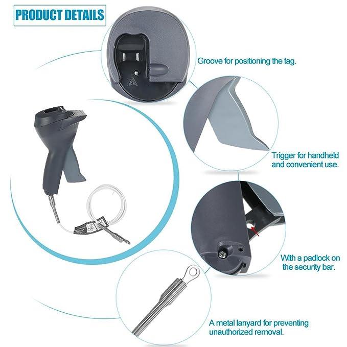 amaces Detacher EAS Handheld and Mini Key Detacher: Amazon ...