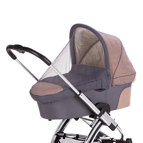 Diago Universal - Mosquitera para carritos de bebés, color gris