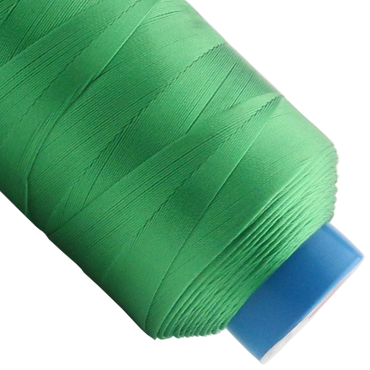 Ogrmar Green Bonded Nylon Sewing Thread 1500 Yard Size T70#69 Green